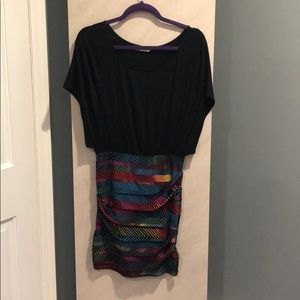 BCBGeneration dress with pencil skirt bottom